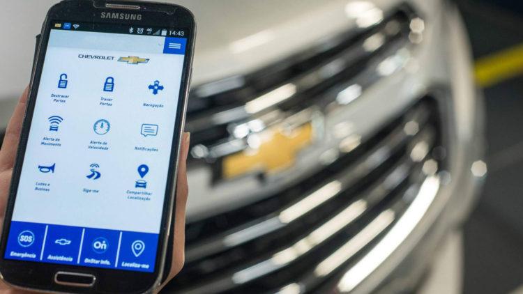 aplicación móvil: My Chevrolet